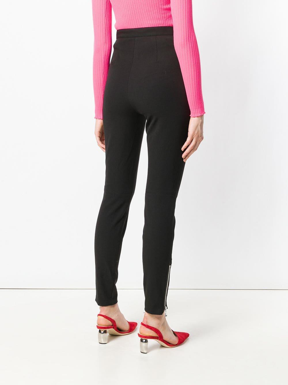 Pantalones pitillo 3.1 Phillip Lim de Algodón de color Negro