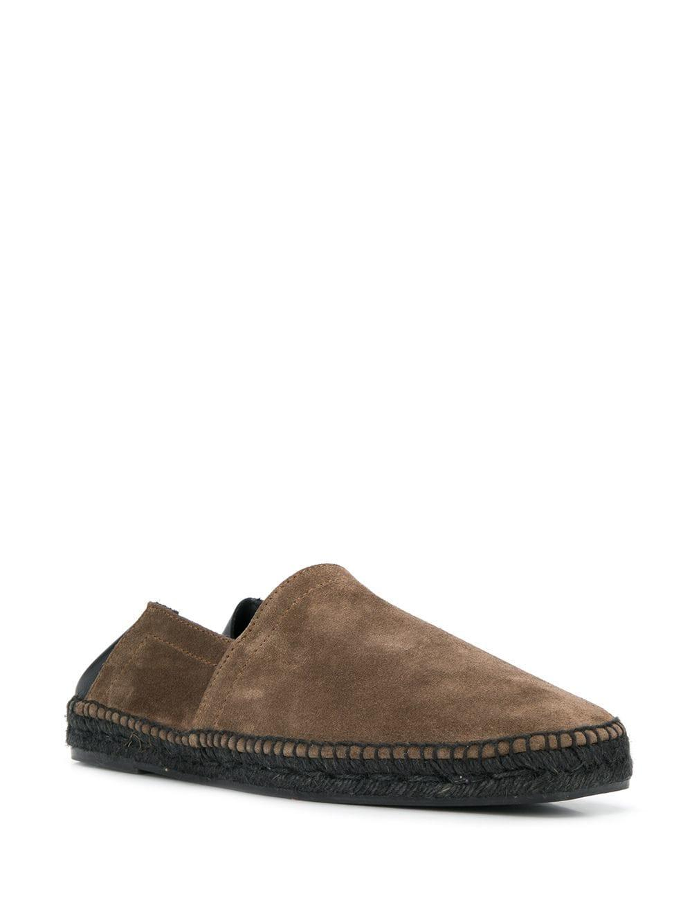 1ba985c9031 Tom Ford Leather Trim Espadrilles in Brown for Men - Lyst