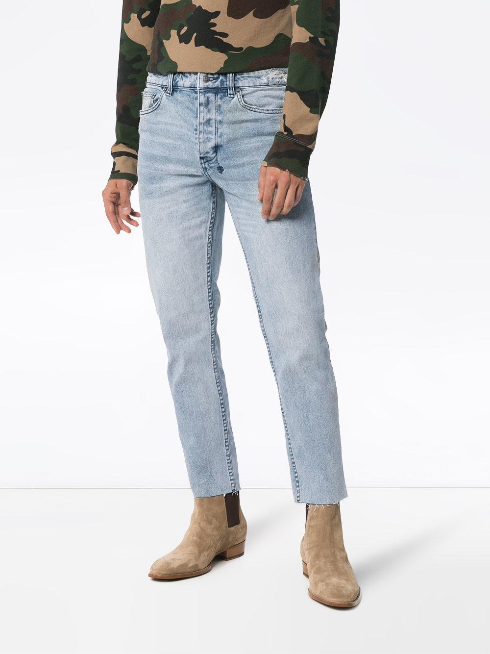 Ksubi Denim Chitch Chop Acid Attack Jeans in Blue for Men