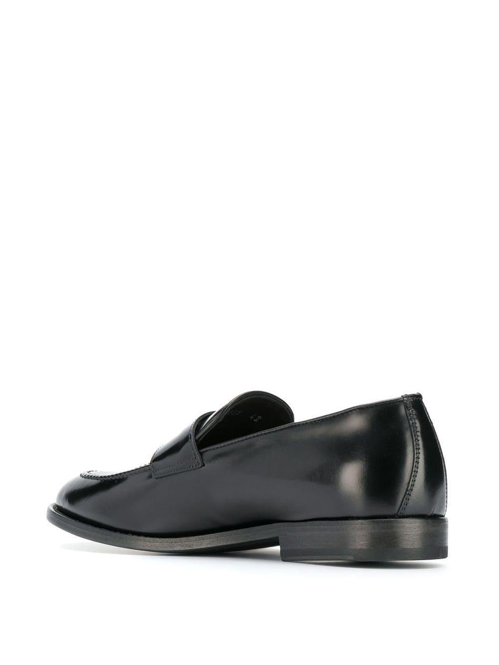Mocassins classiques Cuir Dell'Oglio pour homme en coloris Noir