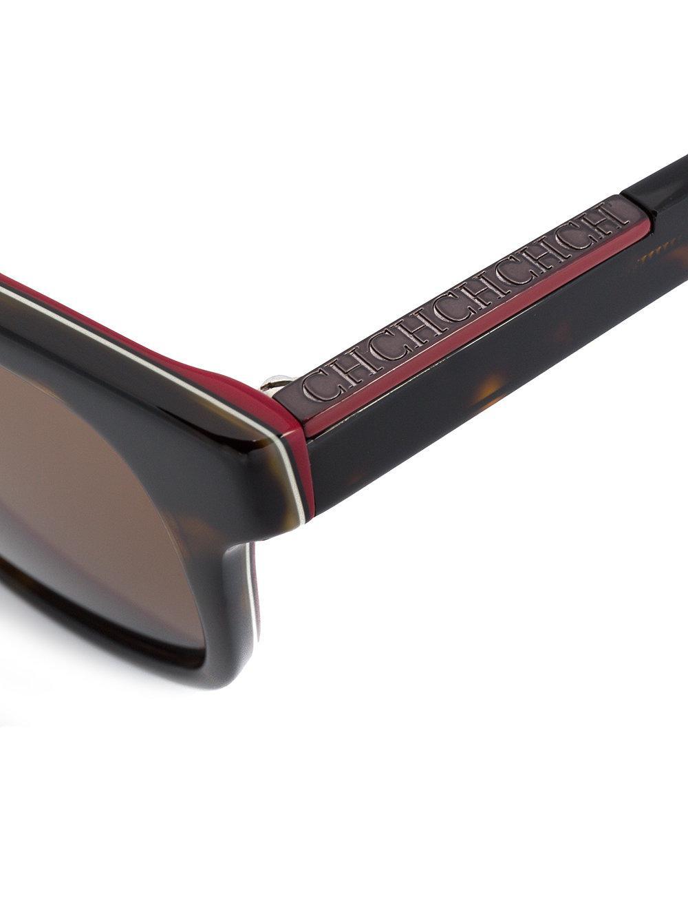 CH by Carolina Herrera She685 Sunglasses in Black