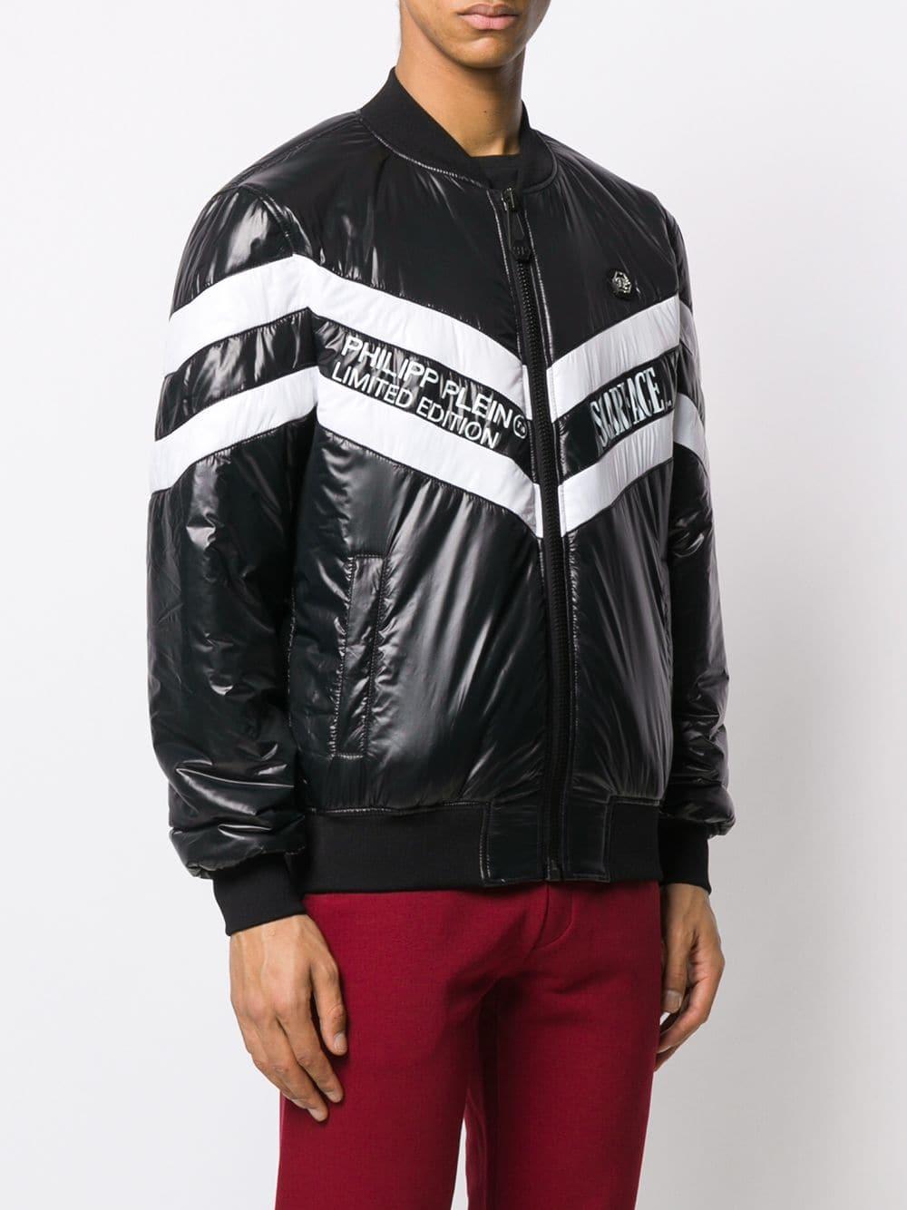 Philipp Plein Bomber Scarface Jacket In Black For Men - Lyst