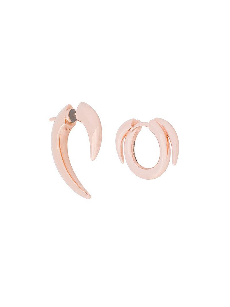 Shaun Leane Talon and Thorned set of earrings - Metallic FzStM