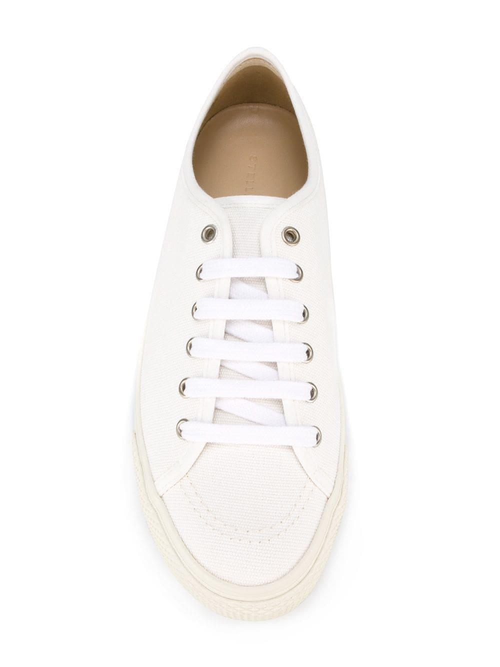 Stella McCartney Classic Canvas Sneakers in White for Men