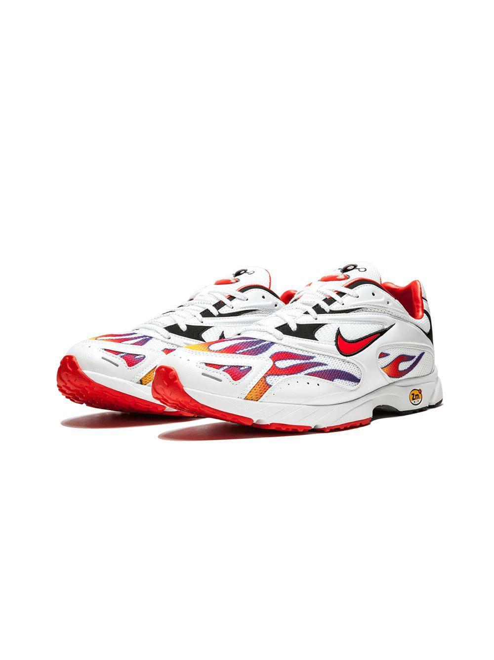 190d82d8fb31 Lyst - Supreme Nike X Zm Strk Spectrum Pls Sneakers in White for Men