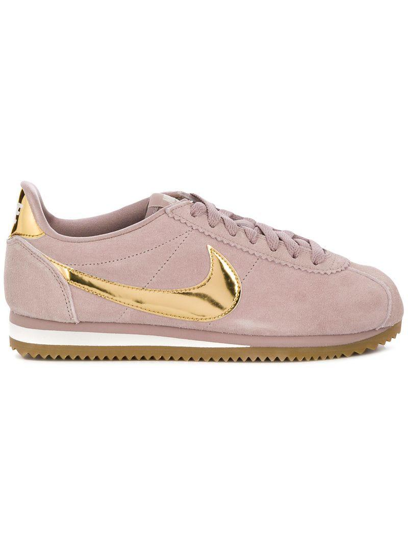 Nike Classic Cortez Suede Sneakers in