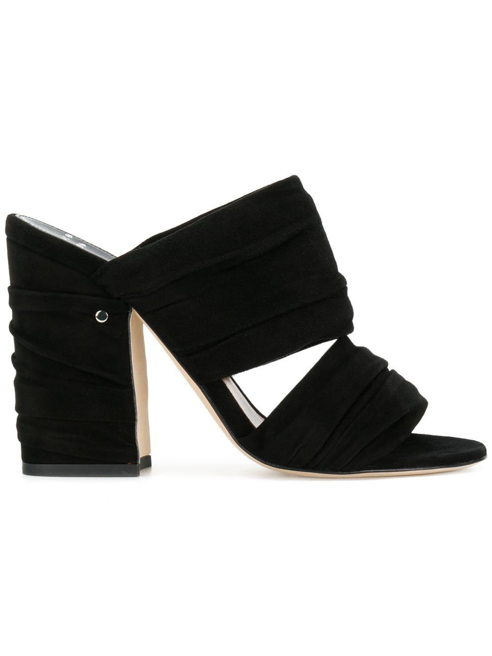 4a13cd1b50f Laurence Dacade Rona Mules in Black - Lyst