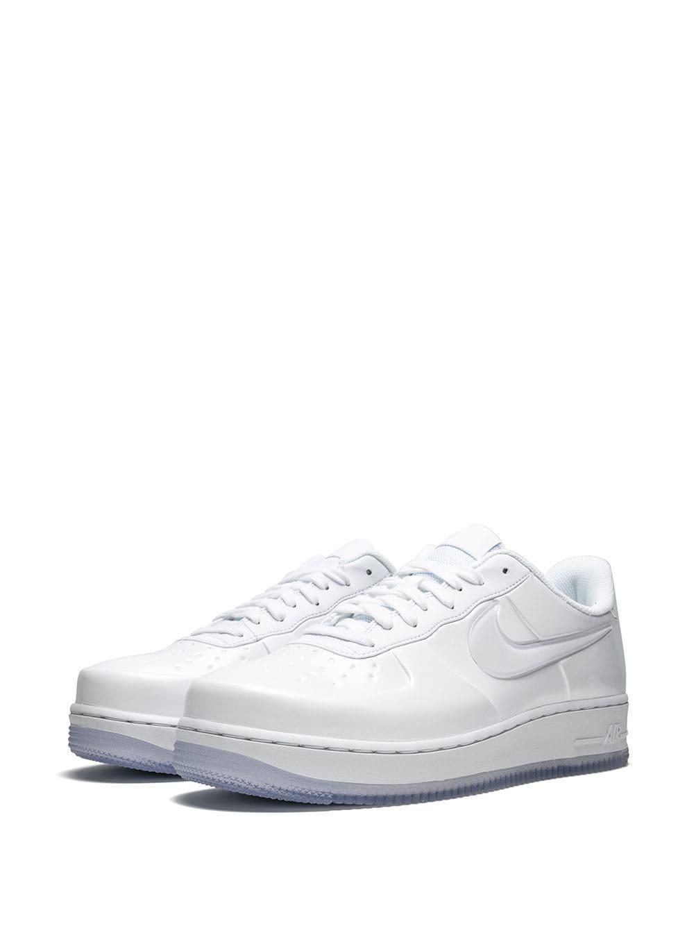 441139c3e4e7e Lyst - Nike Air Force1 Foamposite Pro Cupsole Sneakers in White for Men