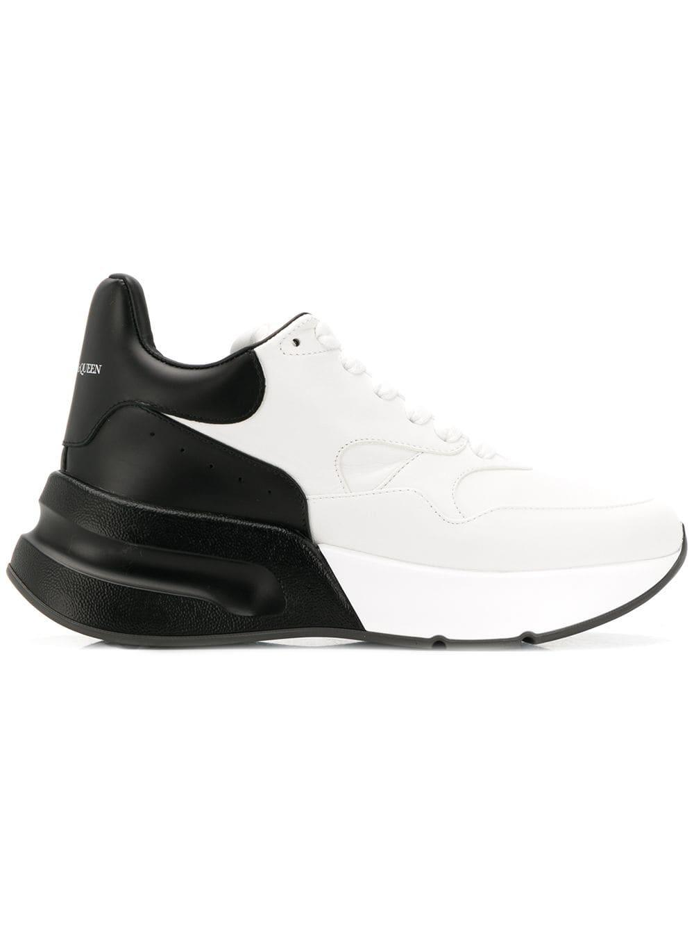 Alexander McQueen Leather Two-tone