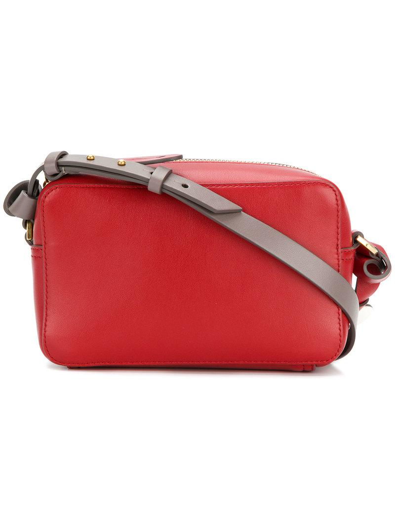 2306f0ce26 Lyst - Anya Hindmarch Crossbody Bag in Red
