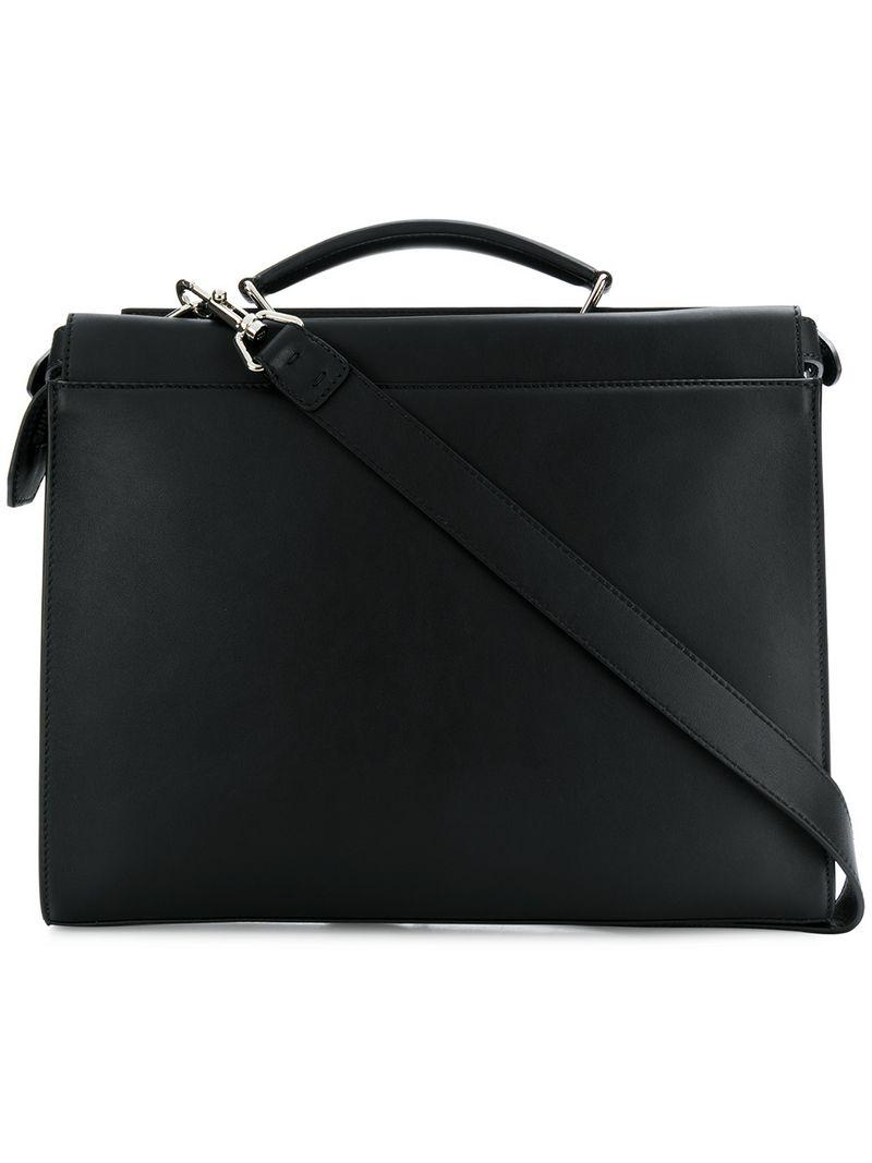fb9266f353b7 Lyst - Fendi Top-handle Briefcase in Black for Men