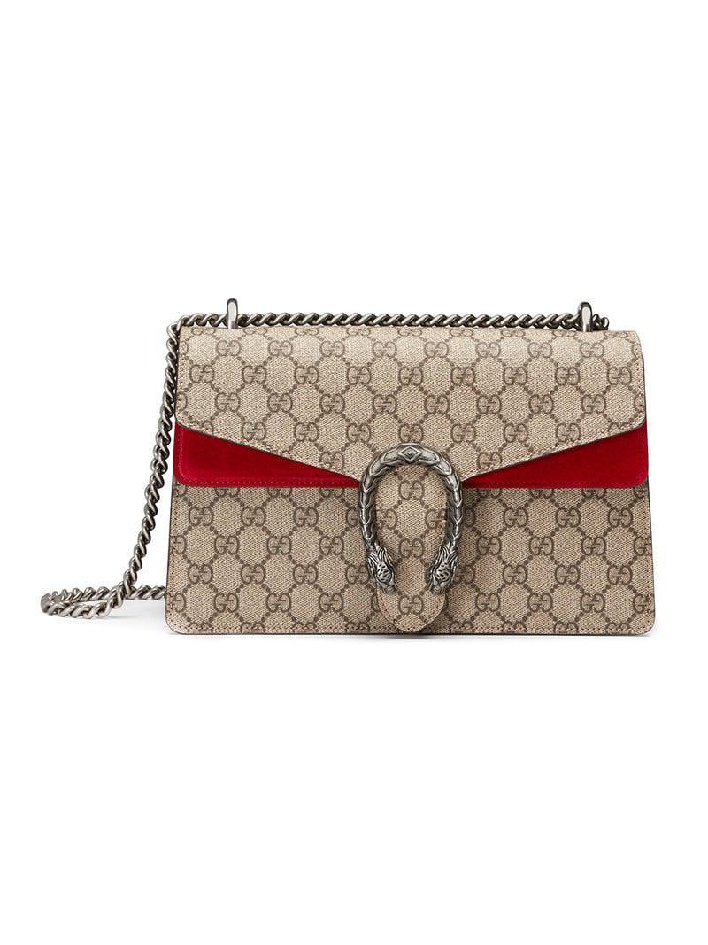 5424b3849c9 Lyst - Gucci Dionysus GG Supreme Shoulder Bag - Save 7%
