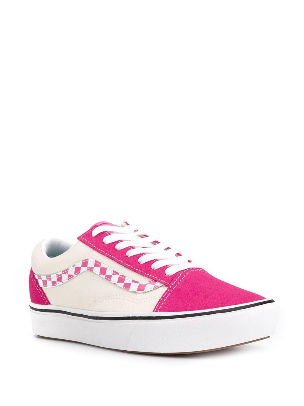 fa9b50f9b3f0 Vans Confycush Old Skool Sneakers in Pink - Lyst