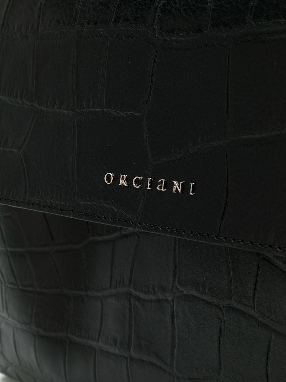 Sac à main Sveva Cuir Orciani en coloris Noir 9Xi7