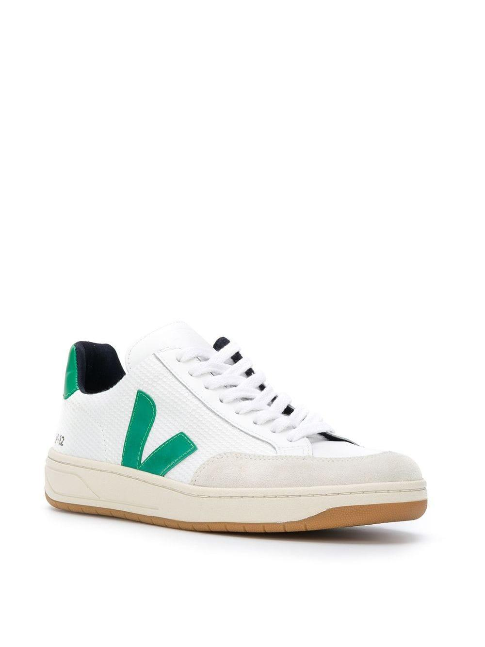 Veja Rubber Low Top Sneakers in White