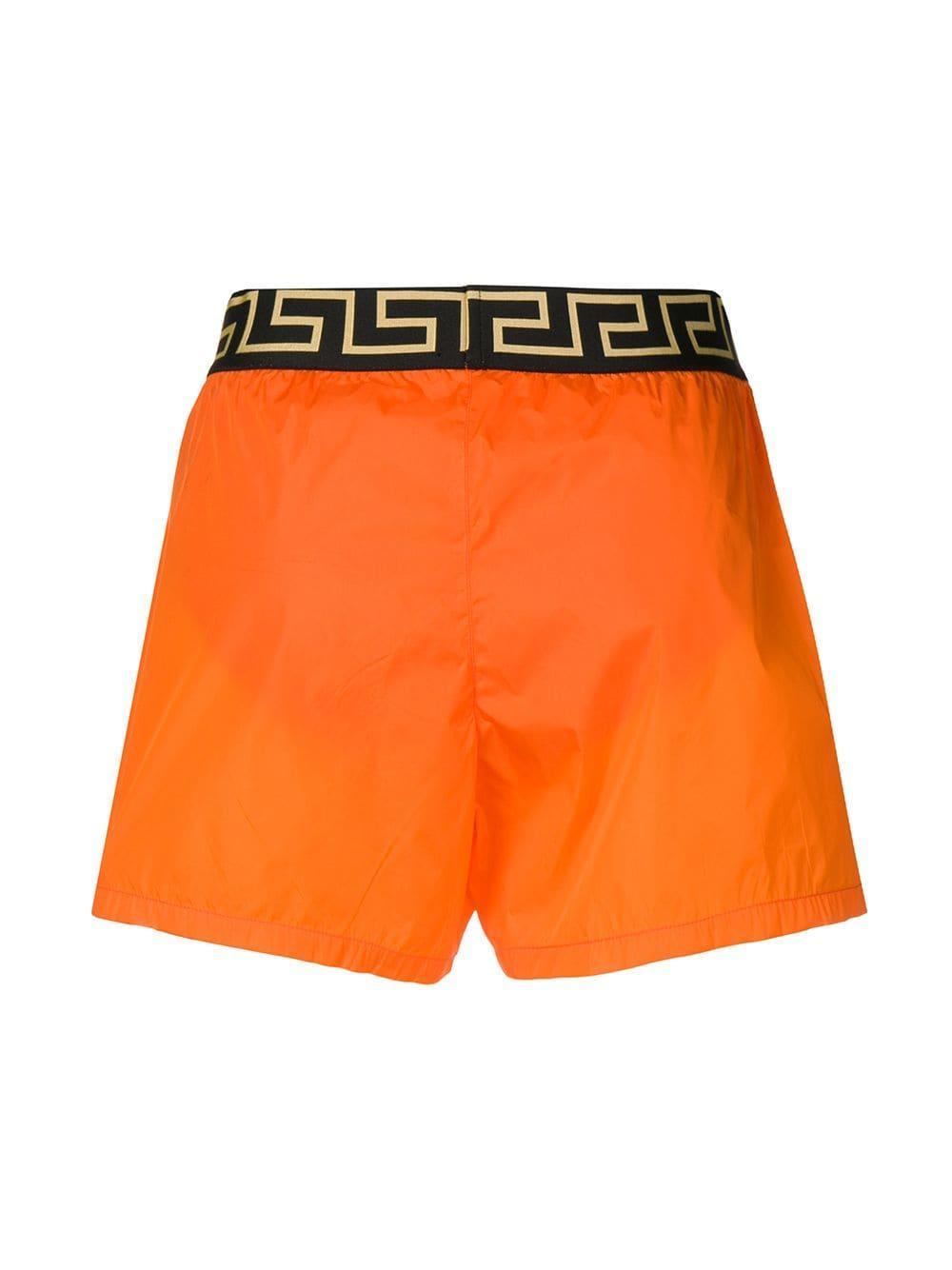 Versace Synthetisch Zwembroek in het Oranje voor heren