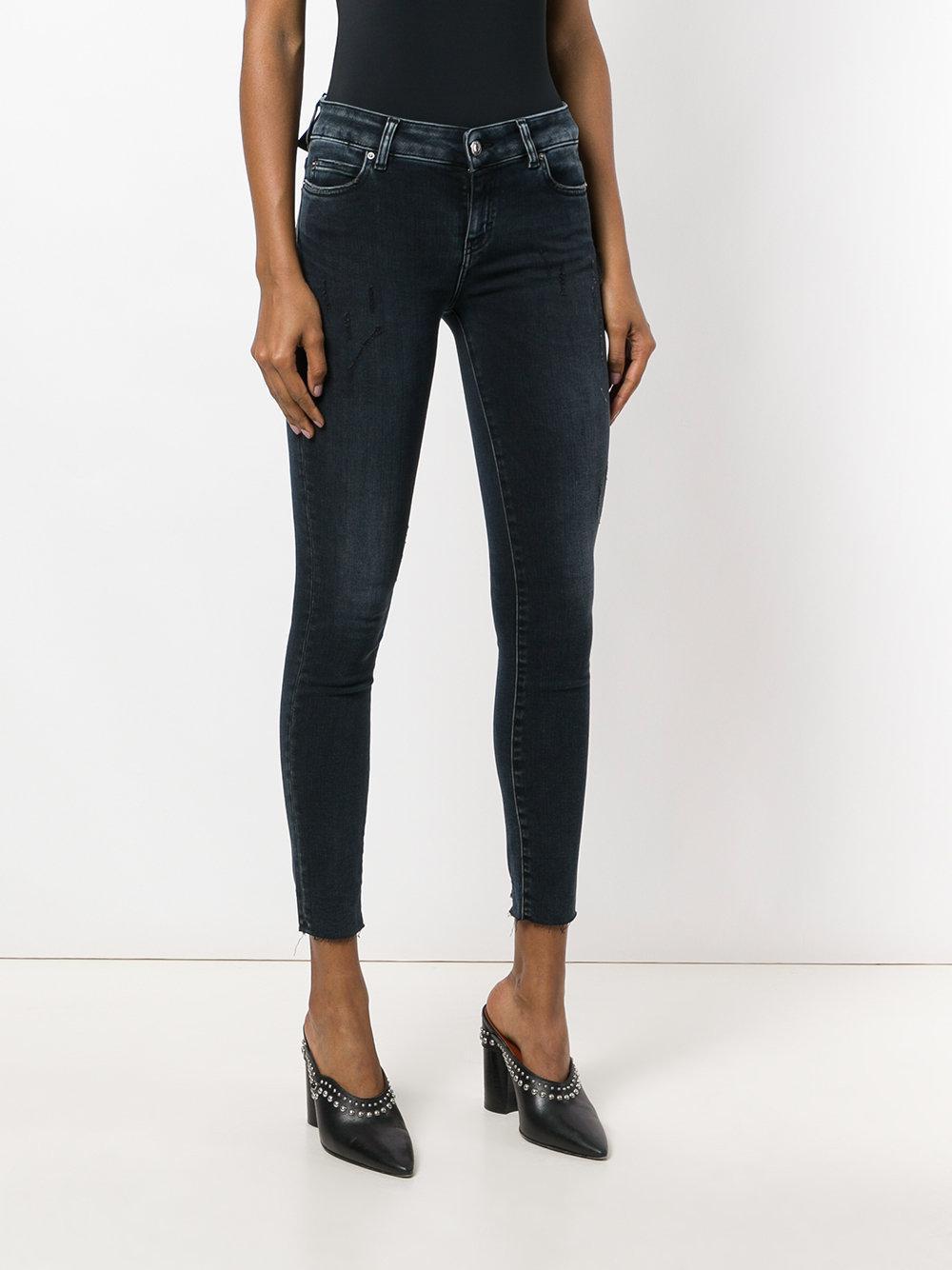 IRO Denim Slim Fit Jeans in Black