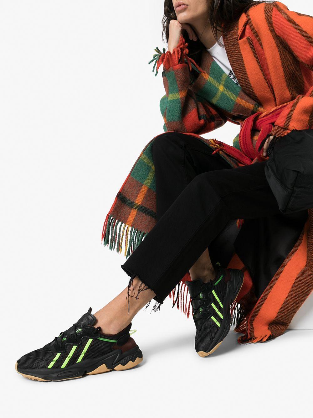 Zapatillas Ozweego de Pusha-T adidas de Tejido sintético de color Negro