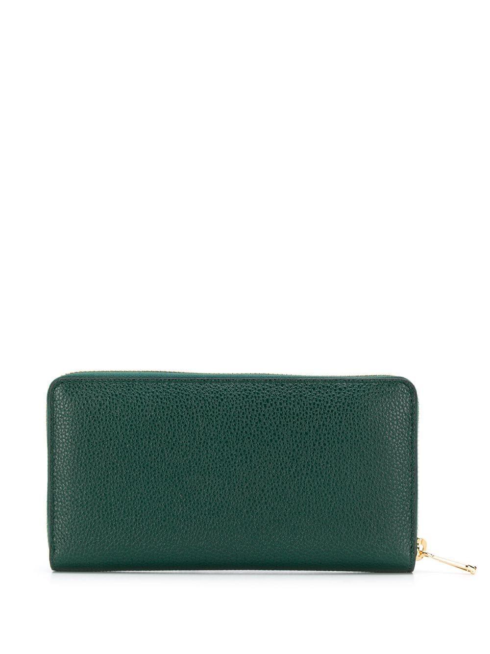 66dd6109ff51 Lyst - Gucci Zumi Continental Wallet in Green