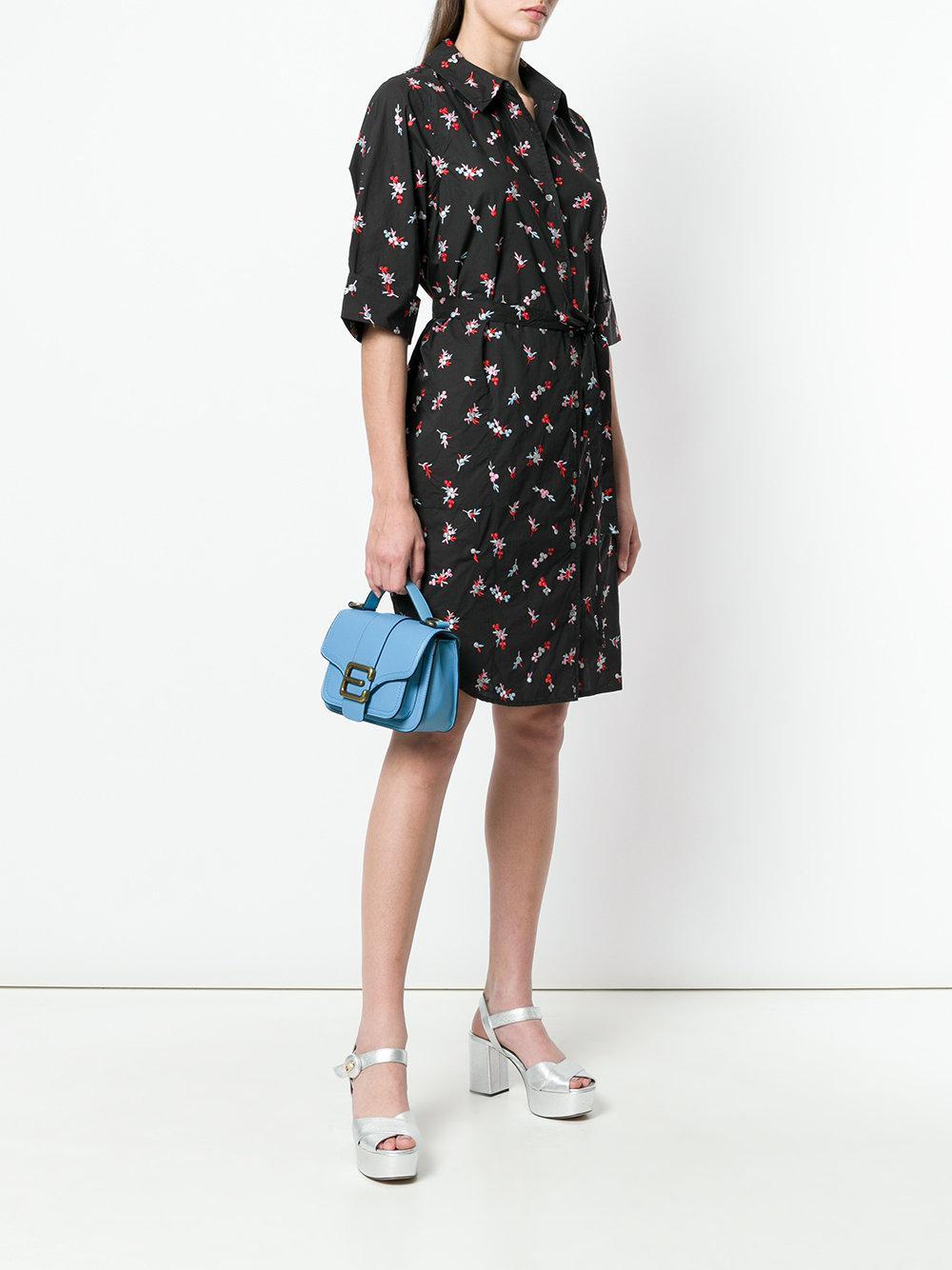 logo buckle shoulder bag - Blue Essentiel Outlet Discount Cheap Sale How Much Sale Best Vz2bb0