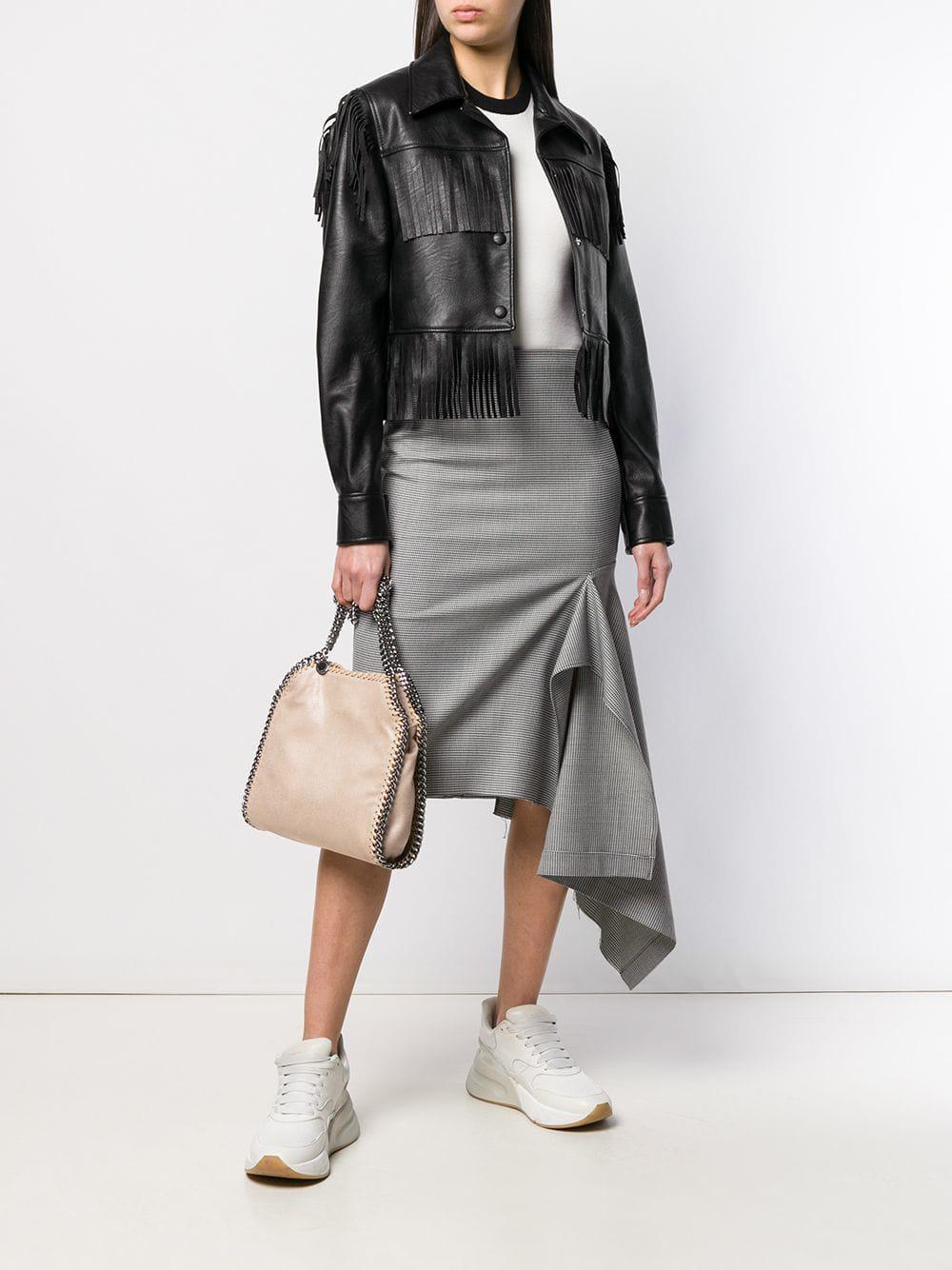 6095c43582d3 Lyst - Stella Mccartney Mini Falabella Bag in Natural