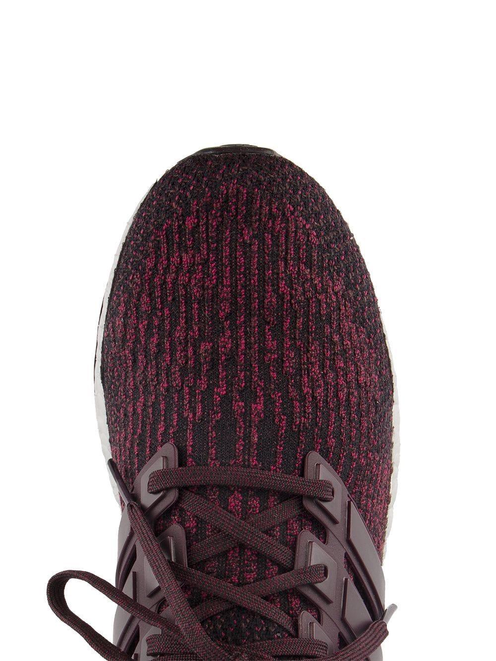 Zapatillas Ultraboost adidas de Lana de color Rojo para hombre