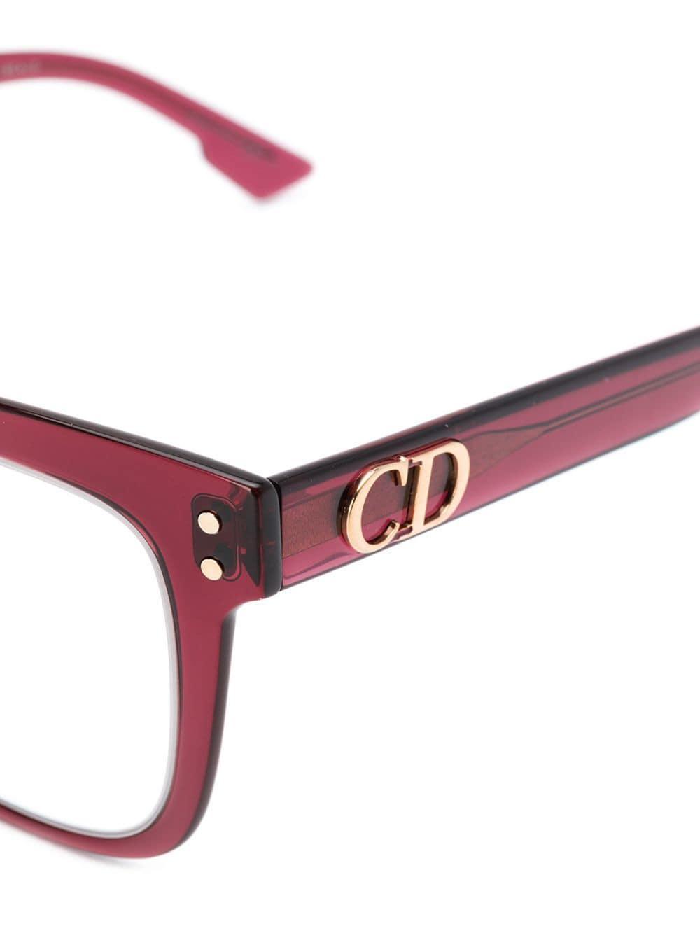 Rouge Dior En De Lyst Monture Carrée Lunettes À Vue Coloris uXikZOPT