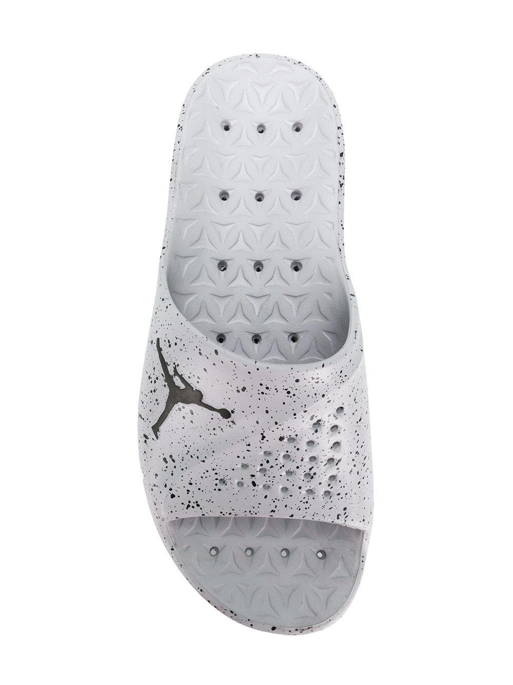 Nike Jordan Superfly Slides in Gray for Men - Lyst ad0a72e8f38