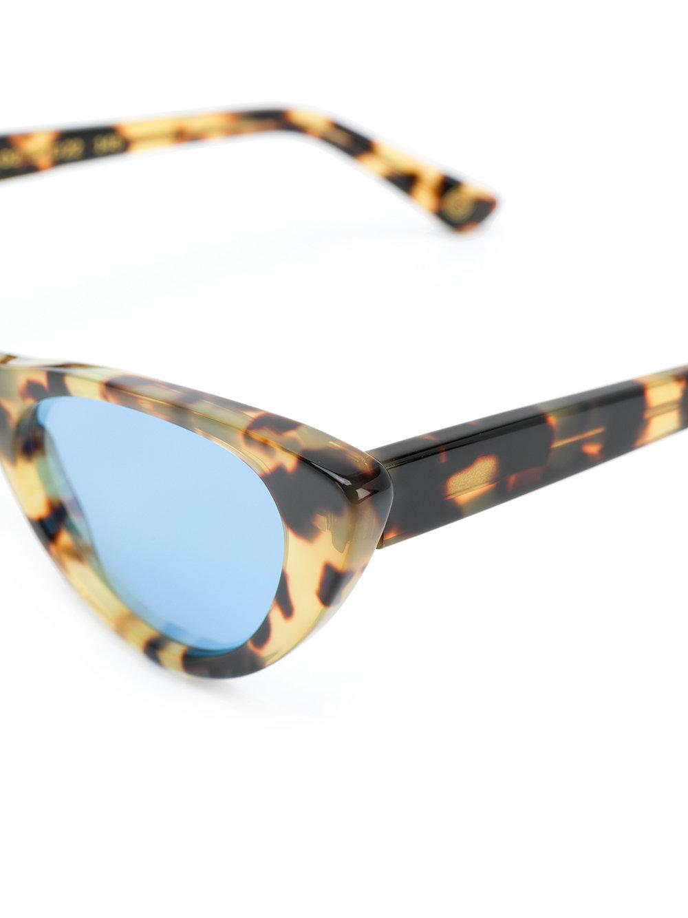 Kyme Viola 2 Sunglasses in Brown
