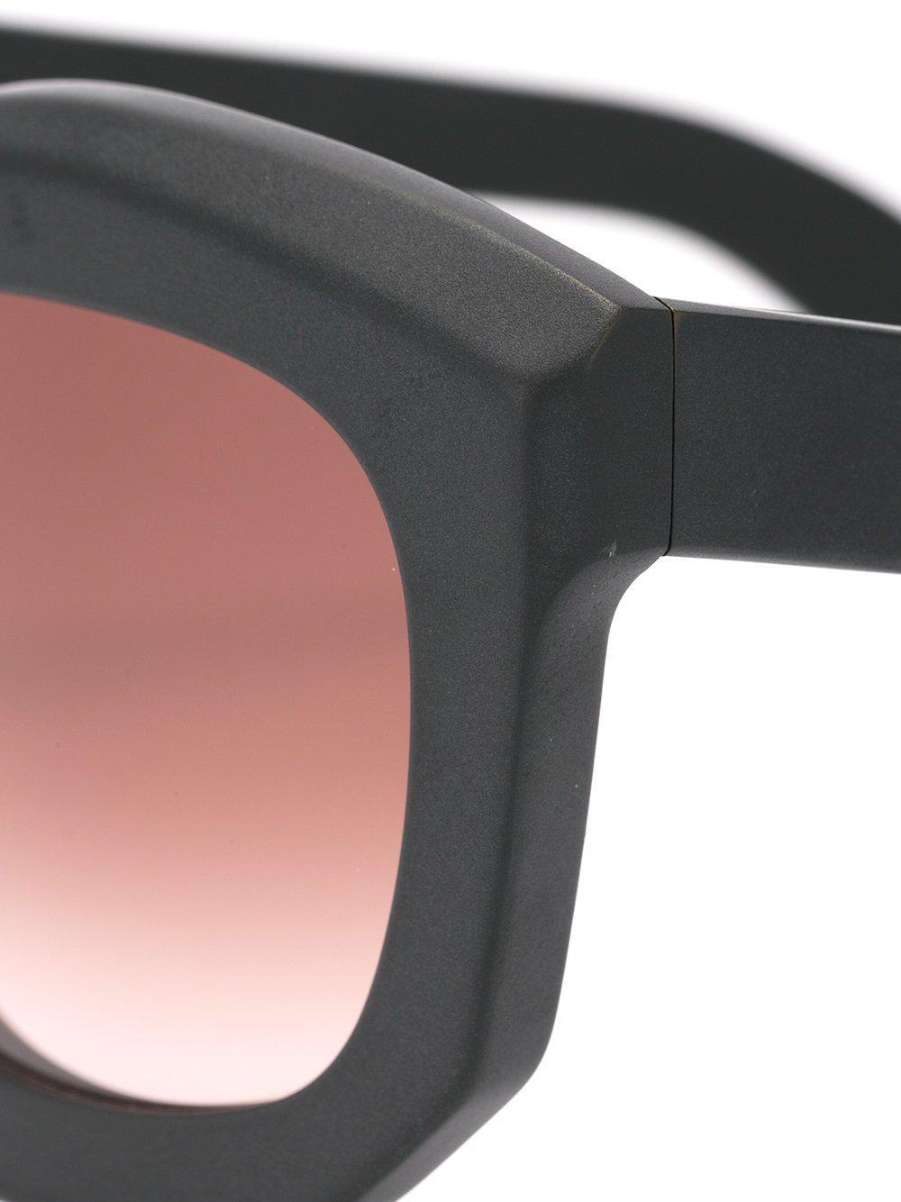 Kuboraum 'mask B2 Bm' Sunglasses in Black