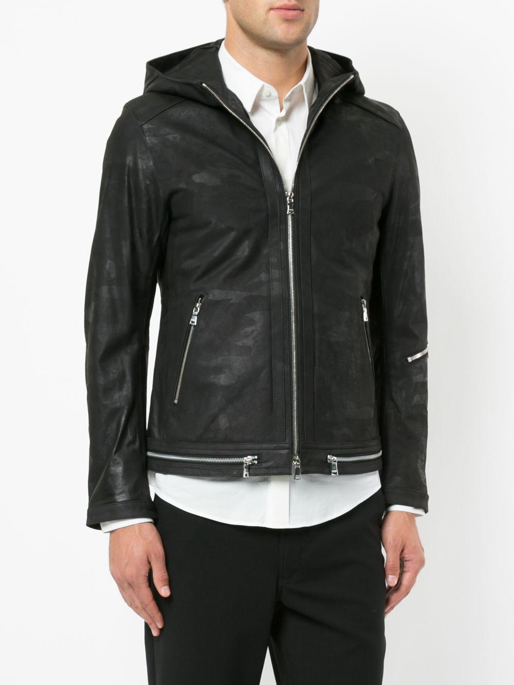 Loveless Hooded Jacket in Black for Men