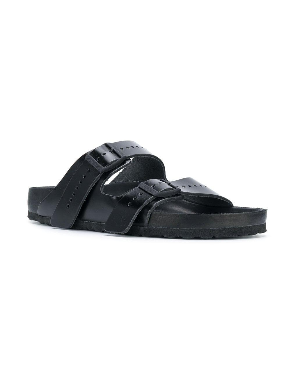 322a5a243aff Lyst - Rick Owens X Birkenstock Arizona Sandals in Black for Men - Save 39%