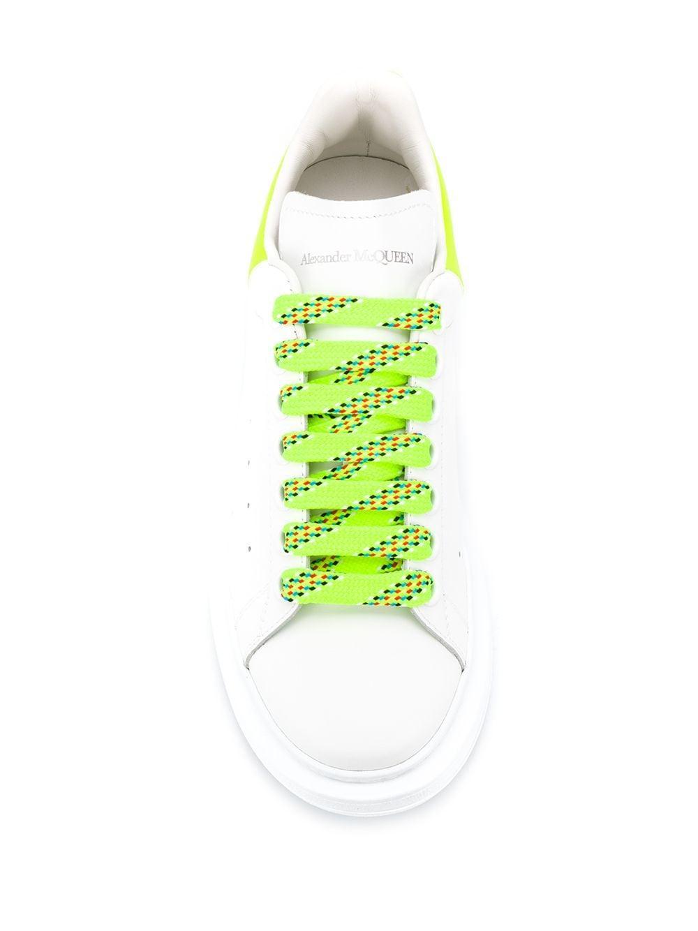 Zapatillas oversize Alexander McQueen de Cuero de color Blanco