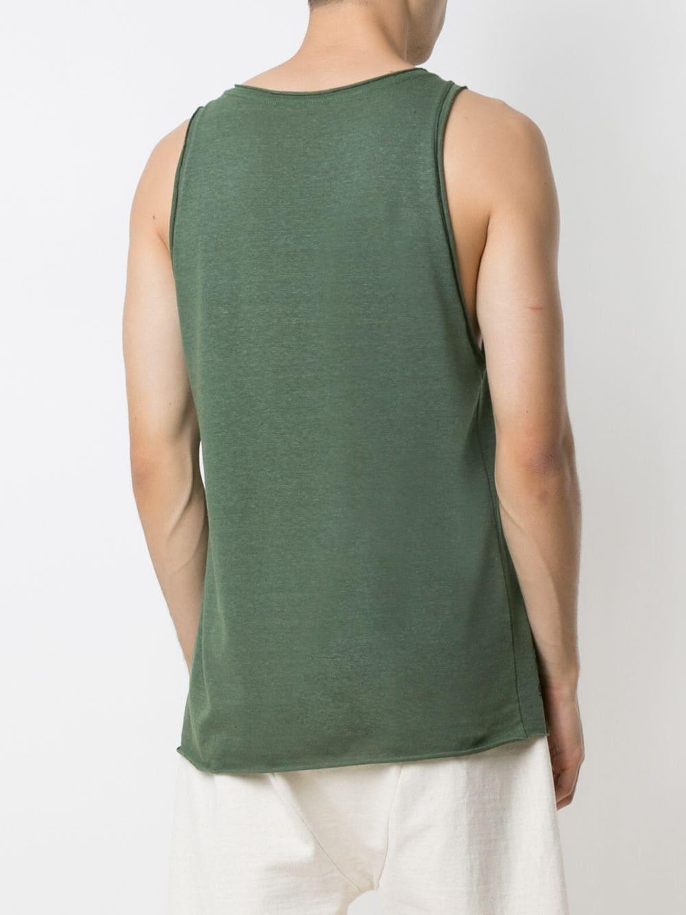 Osklen Tanktop Met Print in het Groen voor heren