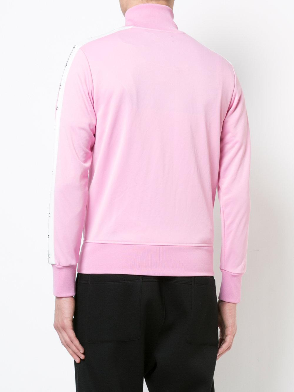Palm Angels Barbwire Track Jacket in Pink & Purple (Pink) for Men