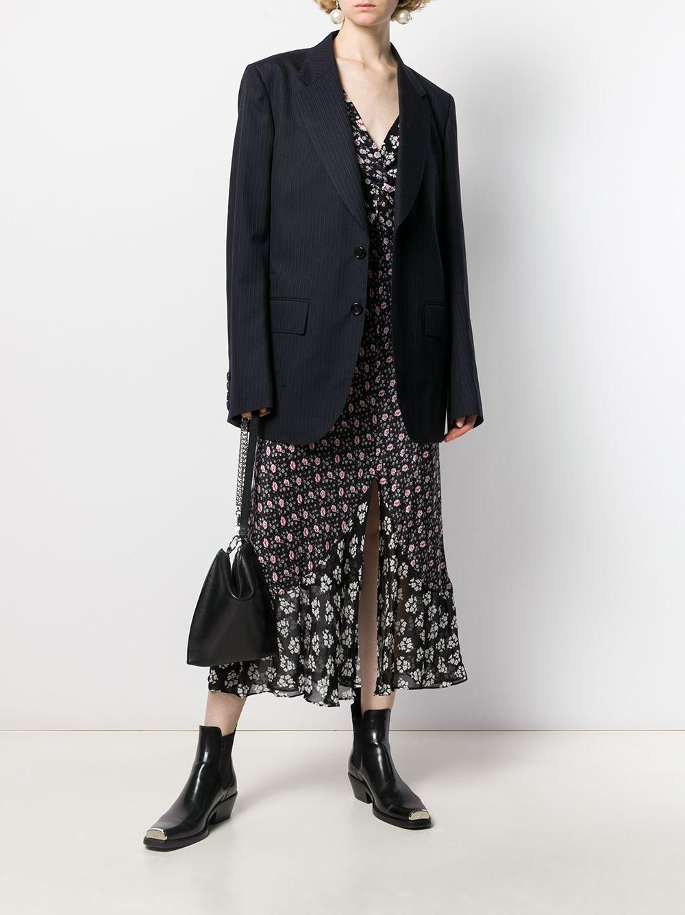 Blazer oversize Synthétique Junya Watanabe en coloris Bleu
