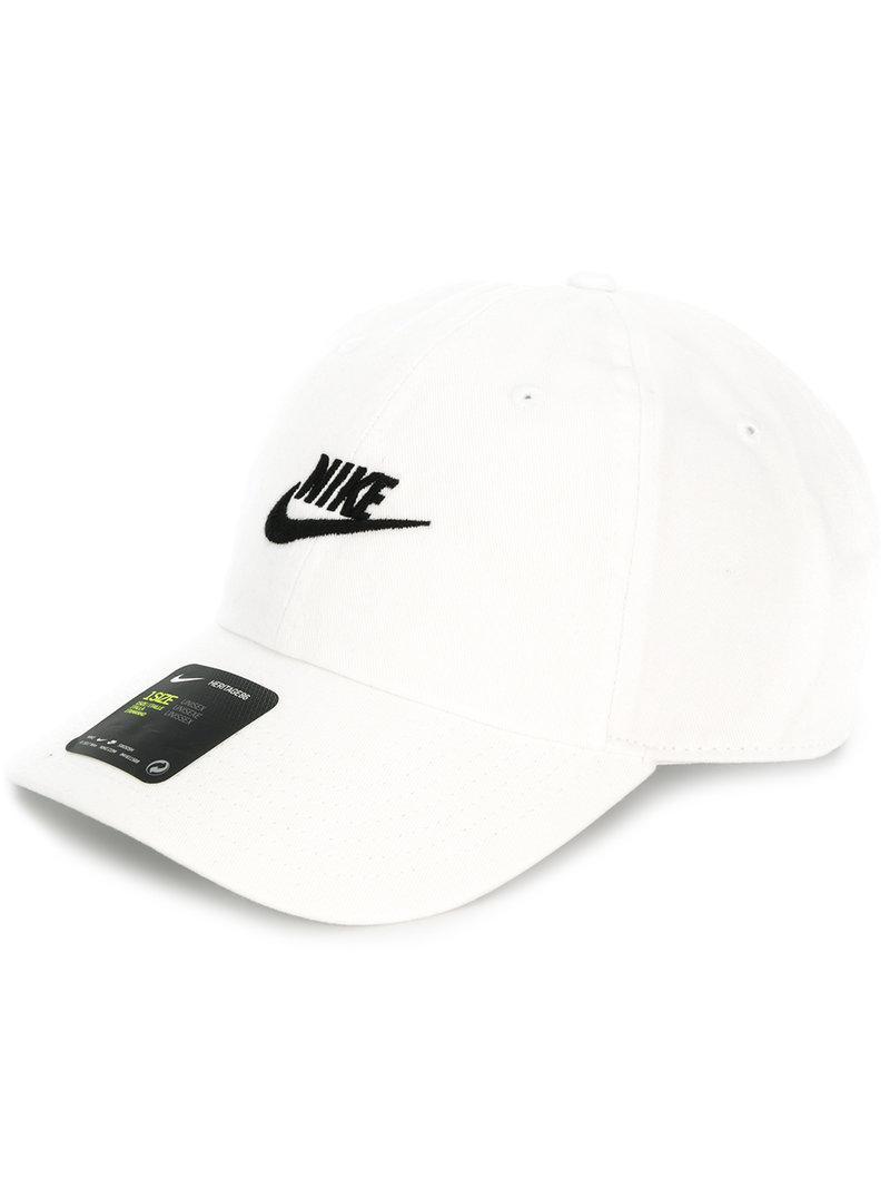 f145db0295f Lyst - Nike Logo Baseball Cap in White for Men