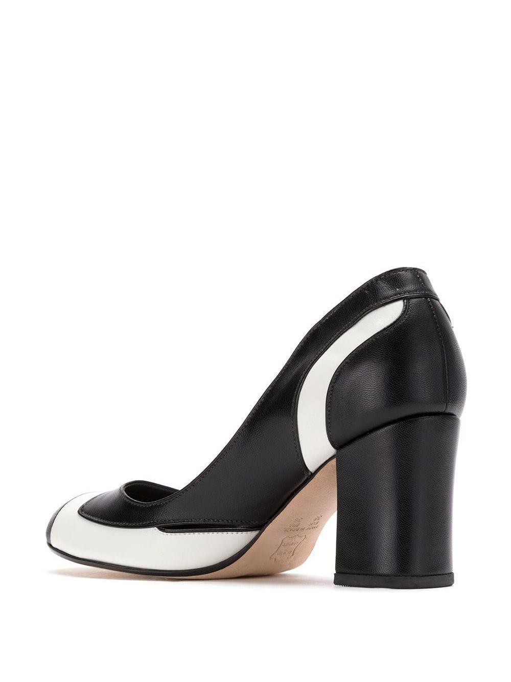 Zapatos de tacón de piel Sarah Chofakian de Cuero de color Negro