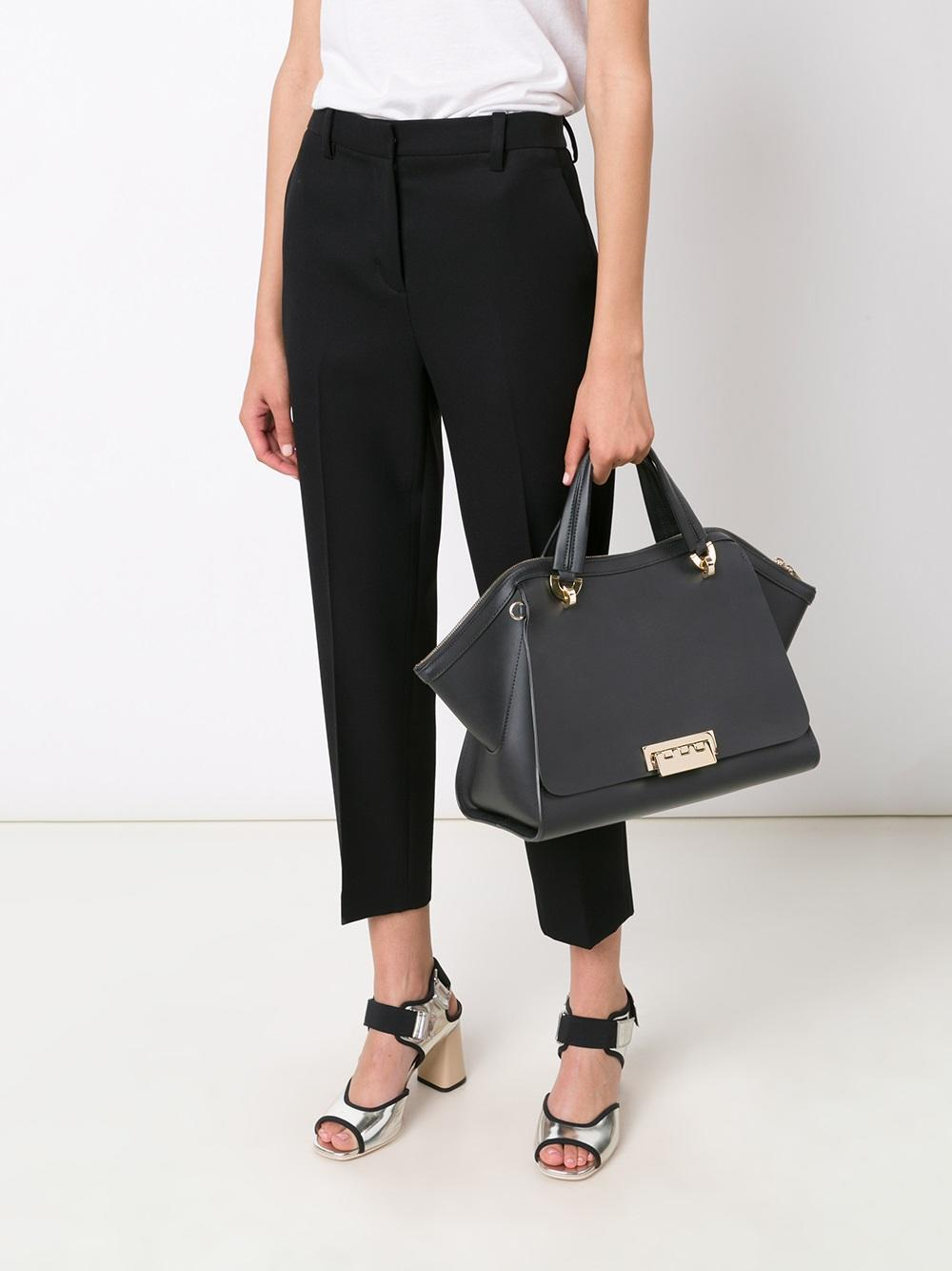 ZAC Zac Posen Eartha Iconic Jumbo Double-Handle Shoulder Bag