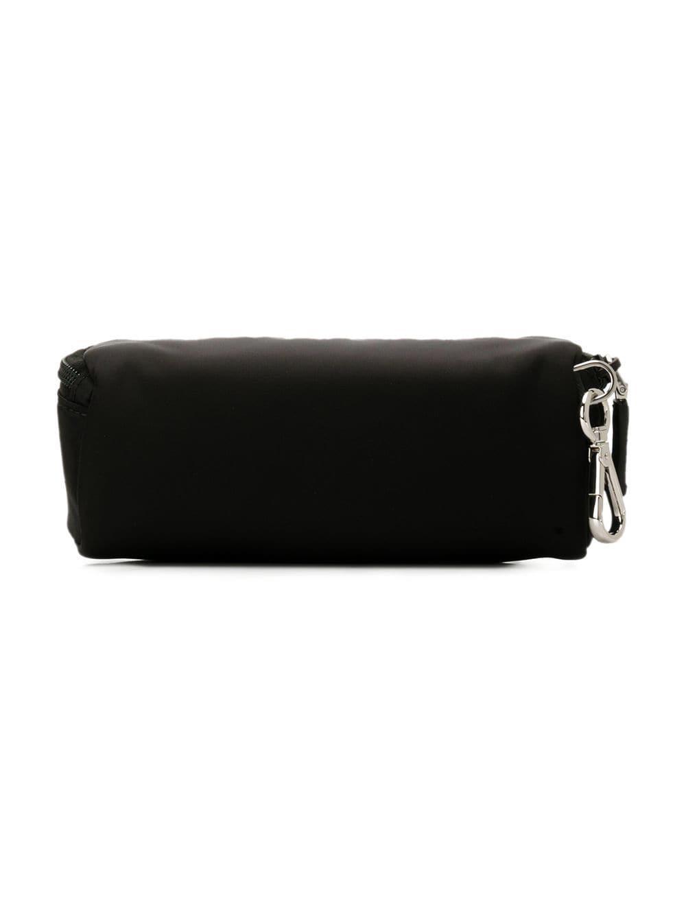 0b66d506840d Lyst - Prada Zipped Wash Bag in Black for Men