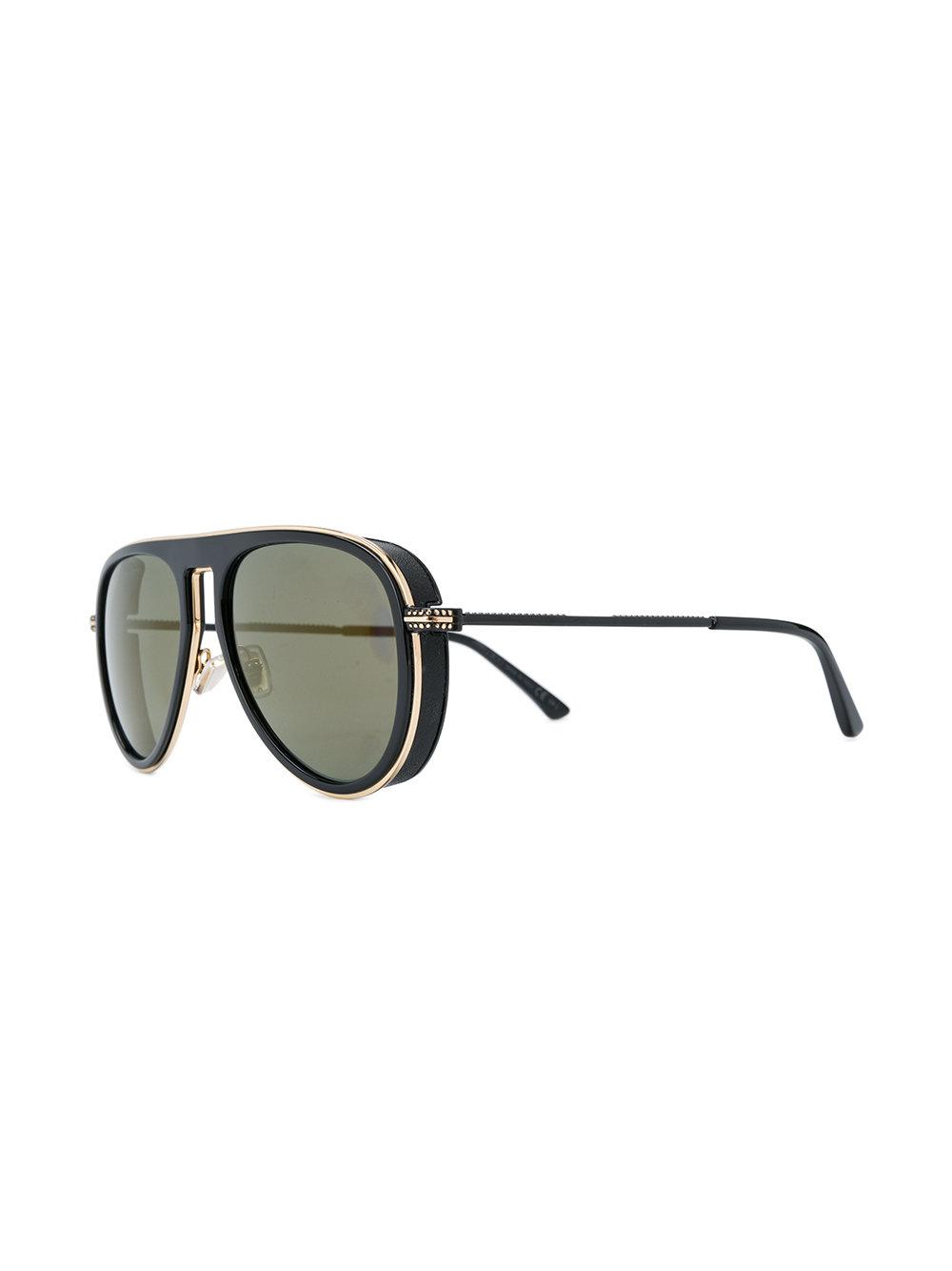 Jimmy Choo Carl/s Sunglasses in Black for Men
