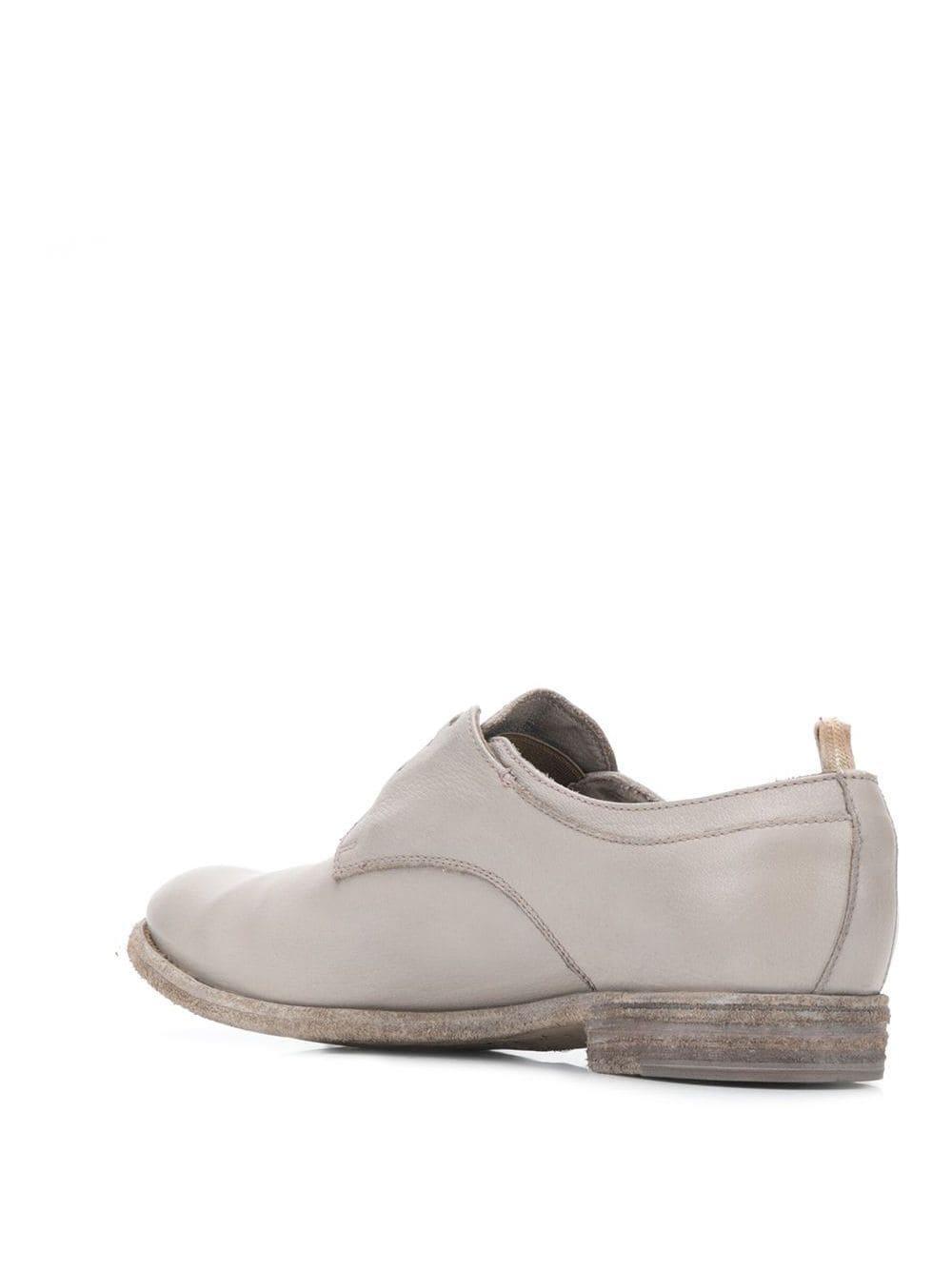 Zapatos derby Lexikon sin cordones Officine Creative de Cuero de color Gris