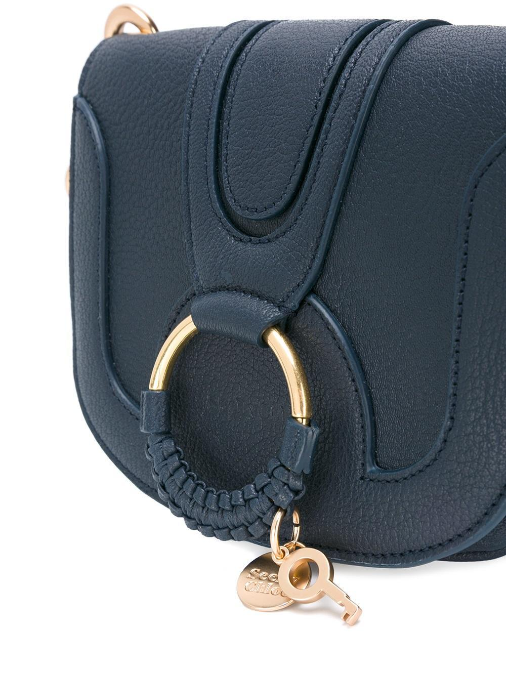 See By Chloé Leather Hana Crossbody Bag in Blue