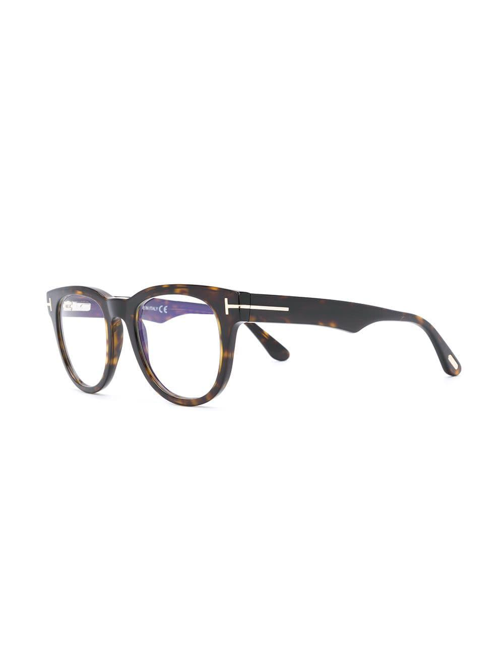 9a8dcfa637a Tom Ford Square Acetate Glasses in Brown - Save 1.5151515151515156 ...