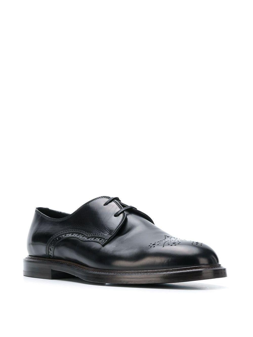 Zapatos Derby clásicos Dolce & Gabbana de Cuero de color Negro para hombre