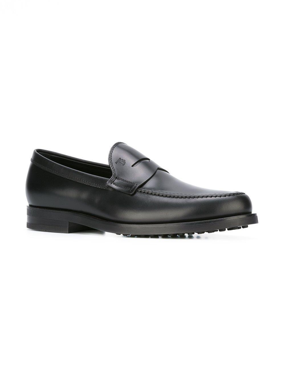 bc7e24e2adb Tod s - Black Classic Penny Loafers for Men - Lyst. View fullscreen