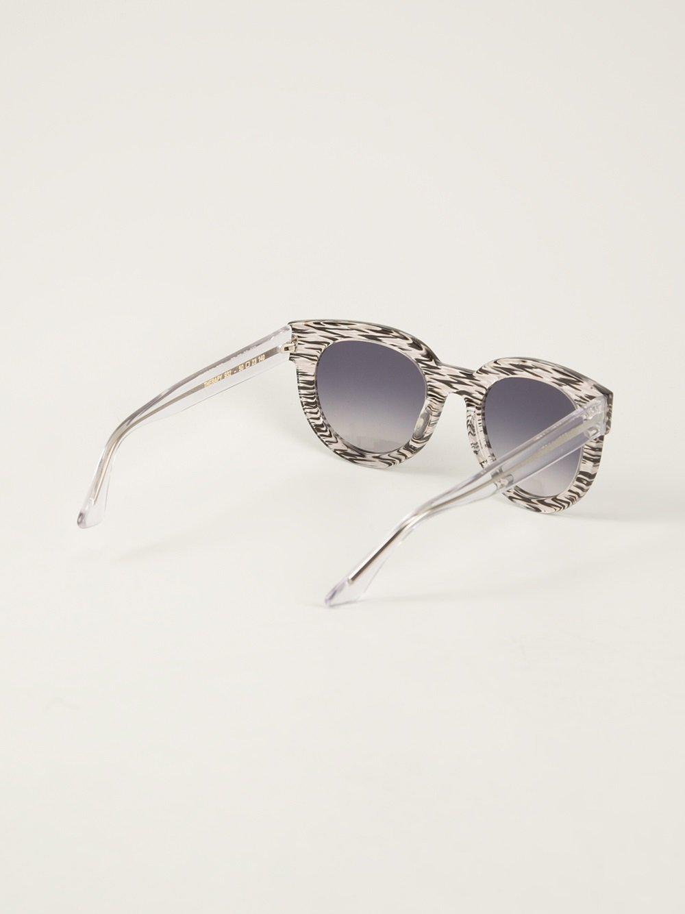 72c4294a35 Thierry Lasry Thick Rimmed Sunglasses in Black - Lyst