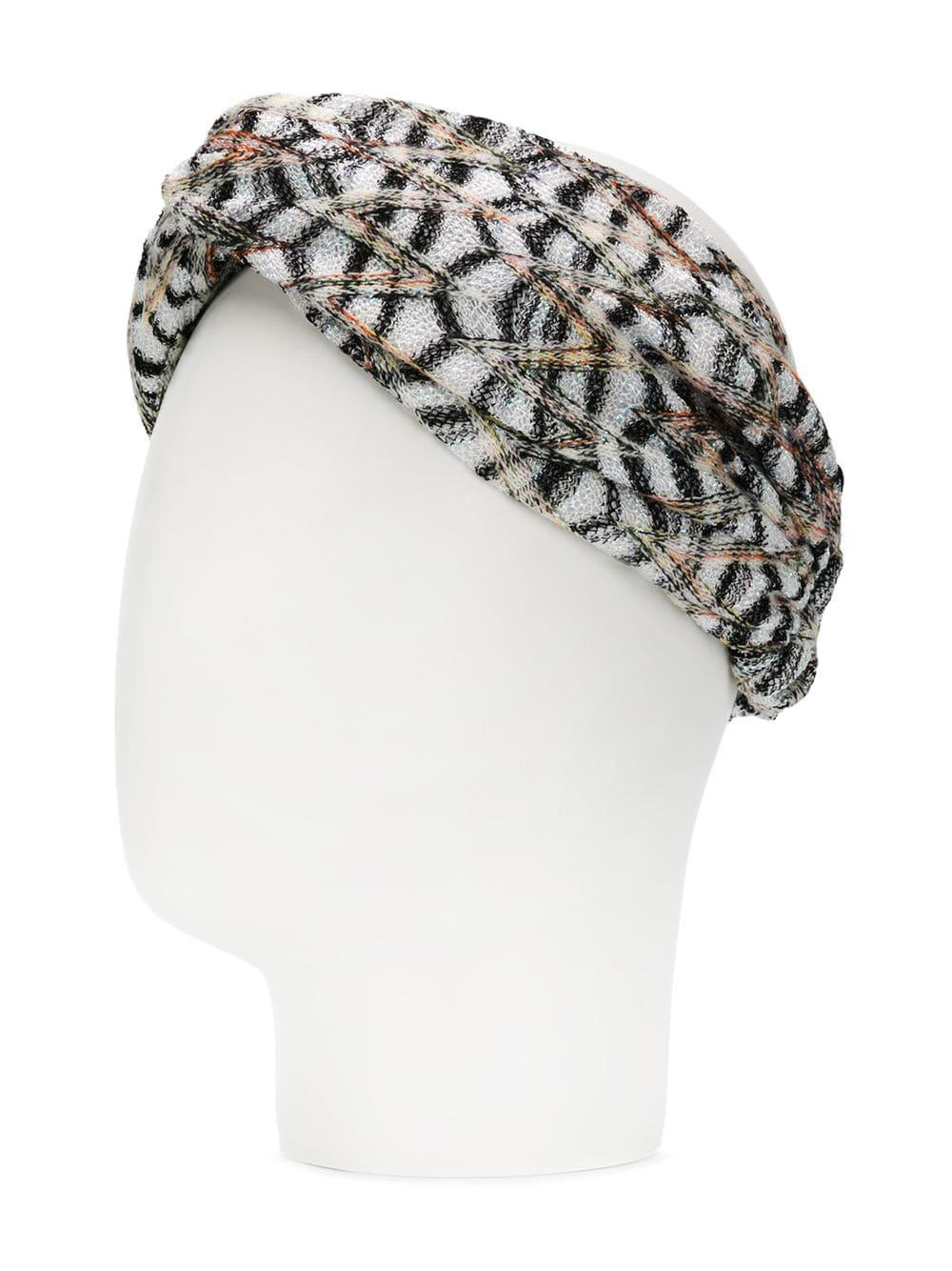 6cea4244e5b Missoni - White Knitted Headband - Lyst. View fullscreen