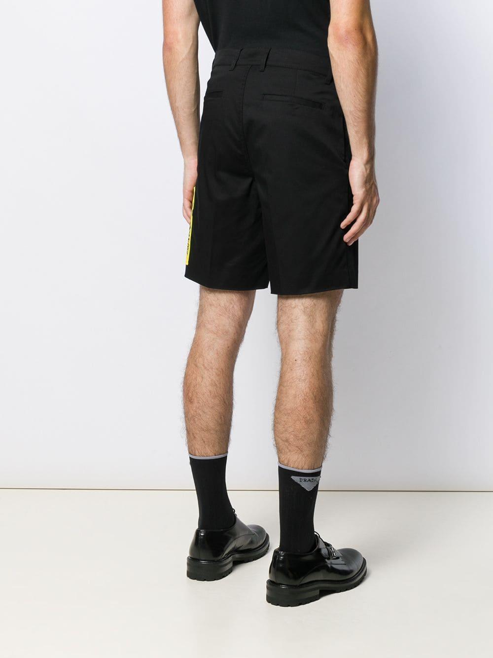 Givenchy Synthetisch Chino Shorts in het Zwart voor heren