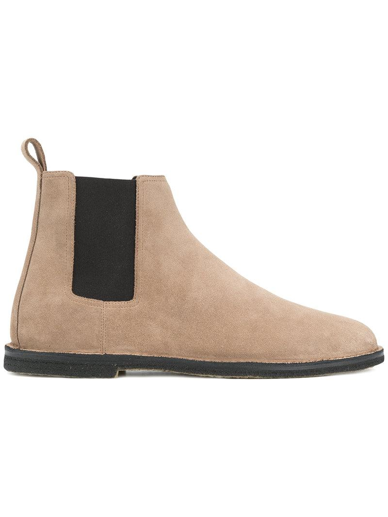 Outlet Locations Cheap Price Free Shipping Online Oran suede desert boots Saint Laurent Clearance Good Selling Visit New Online RM5TK5Cr